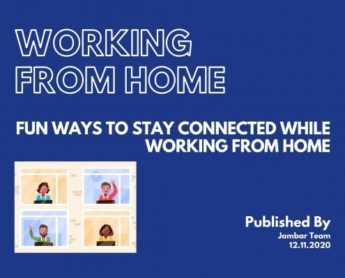 Fun ways to Stay Connected While Working From Home thumbnail