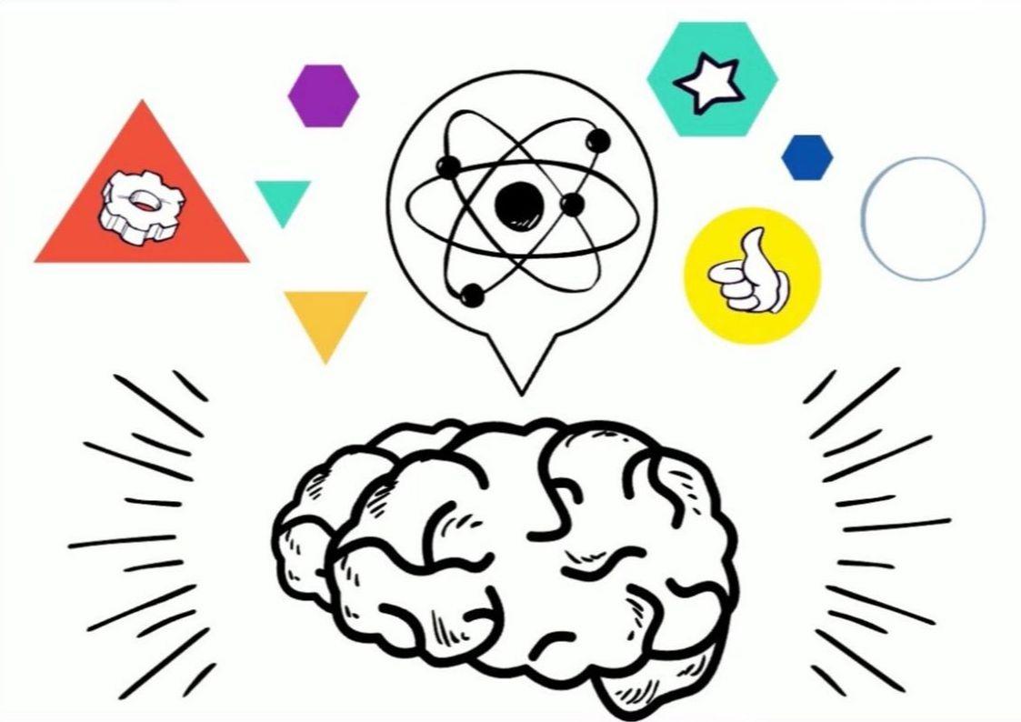 Visual Thinking Brain Flow